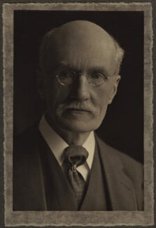 (George) Gilbert Aimé Murray, by Olive Edis - NPG x15508