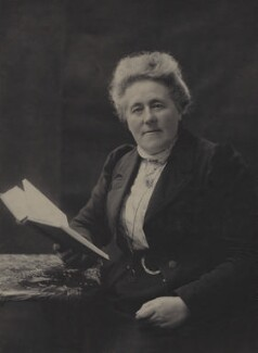 Blanche Anne Frances Pigott, by Olive Edis, and  Katharine Legat (née Edis) - NPG x15539