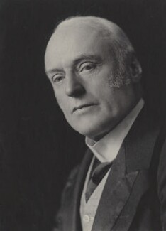 Sir Richard Douglas Powell, 1st Bt, by Olive Edis - NPG x15541
