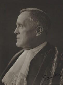 John Sankey, Viscount Sankey, by Olive Edis - NPG x15562