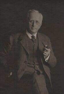 Sir Albert Charles Seward, by Olive Edis - NPG x15566