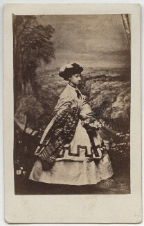 Princess Louise Caroline Alberta, Duchess of Argyll, by John Jabez Edwin Mayall, February 1861 - NPG x15570 - © National Portrait Gallery, London