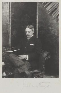 Julian Russell Sturgis, by Cyril Flower, 1st Baron Battersea - NPG Ax15648