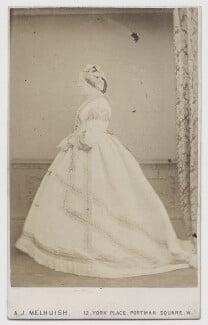 Jane Elizabeth (née Liddell), Viscountess Barrington, by A.J. (Arthur James) Melhuish - NPG x1571