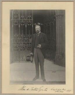 Alan de Tatton Egerton, 3rd Baron Egerton of Tatton, by Benjamin Stone - NPG x15802