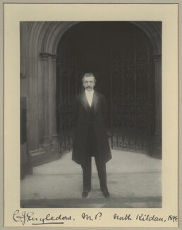 Charles John Engledow, by Benjamin Stone - NPG x15803