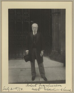 Robert Farquharson, by Sir (John) Benjamin Stone, 21 July 1898 - NPG x15808 - © National Portrait Gallery, London