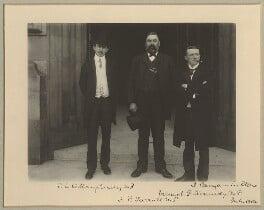 Patrick Joseph O'Shaughnessy; James Patrick Farrell; Vincent Kennedy, by Benjamin Stone - NPG x15810