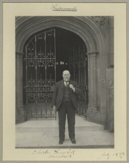 Charles Fenwick, by Sir (John) Benjamin Stone, July 1897 - NPG x15812 - © National Portrait Gallery, London