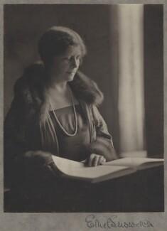 Ethel Snowden (née Annakin), Viscountess Snowden, by Olive Edis - NPG x16092