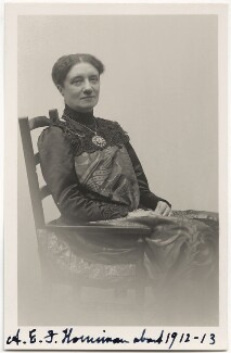 Annie Elizabeth Fredericka Horniman, by Unknown photographer - NPG x16133