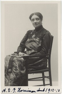 Annie Elizabeth Fredericka Horniman, by Unknown photographer - NPG x16134
