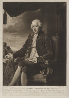 Charles Jenkinson, 1st Earl of Liverpool, by and published by John Murphy, after  George Romney, published 19 March 1788 (1786-1788) - NPG D9533 - © National Portrait Gallery, London