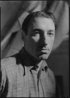 (Frederick) Louis MacNeice, by Howard Coster, 1942 - NPG x1623 - © National Portrait Gallery, London