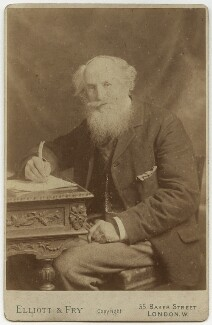 Frederick James Furnivall, by Elliott & Fry, circa 1900 - NPG x16304 - © National Portrait Gallery, London