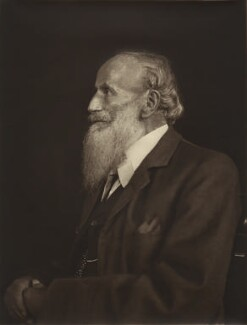 Frederick James Furnivall, by C.W. Carey, mid 1890s - NPG x16306 - © National Portrait Gallery, London