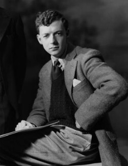 Benjamin Britten, by Howard Coster - NPG x1633