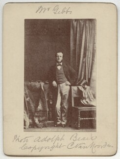 Frederick Waymouth Gibbs, copy by C. Eskell van Noorden, after  Adolphe Paul Auguste Beau, for  Camille Silvy - NPG x16371