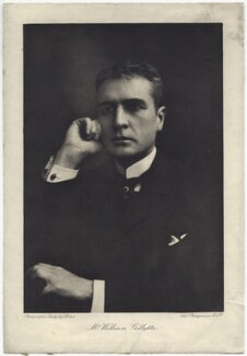 William Hooker Gillette, by Art Photogravure Co Ltd, after  Ernest Walter Histed - NPG x16380