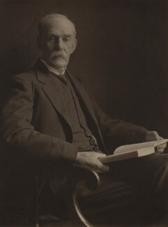 Sir Richard Tetley Glazebrook, by Olive Edis - NPG x16385