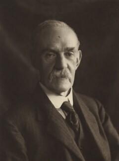 Sir Richard Tetley Glazebrook, by Olive Edis - NPG x16386