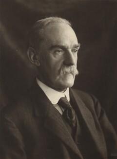 Sir Richard Tetley Glazebrook, by Olive Edis - NPG x16387