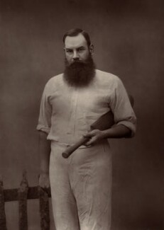 W.G. Grace, by Herbert Rose Barraud - NPG x16478