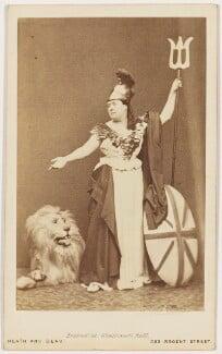 Agnes Elsworthy as Britannia, by Heath & Beau - NPG x16492
