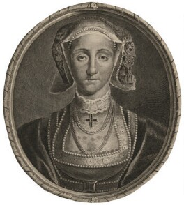 Anne of Cleves, by Cornelis Martinus Vermeulen, after  Adriaen van der Werff, after  Hans Holbein the Younger - NPG D10543