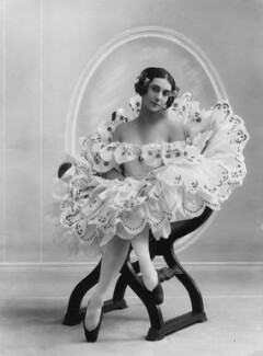 Tamara Karsavina as Columbine in 'Carnaval', by Bassano Ltd - NPG x16764