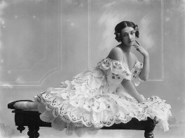 Tamara Karsavina as Columbine in 'Carnaval', by Bassano Ltd - NPG x16767
