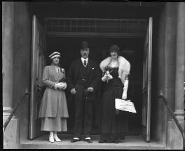 Sophia Nicholaievna, Countess de Torby; Mary Howe (née Curzon), Countess Howe; Michael Alexandrovich, Grand Duke of Russia, by Mrs Albert Broom (Christina Livingston), 1916 - NPG x168 - © National Portrait Gallery, London