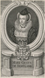 Unknown sitter, formerly known as Mary, Queen of Scots, by Robert Sheppard, after  Isaac Oliver - NPG D10549