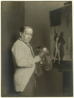 William Orpen, by Unknown photographer - NPG x1685