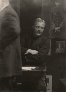 Sir James Guthrie, by Walter Stoneman, 1919 - NPG x16958 - © National Portrait Gallery, London