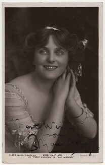 Maie Ash as Peggy Quainton in 'Gay Gordons', by Foulsham & Banfield, published by  Rotary Photographic Co Ltd - NPG x17003