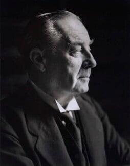 Stanley Baldwin, 1st Earl Baldwin, by Howard Coster, 1930s-1940s - NPG x1701 - © National Portrait Gallery, London