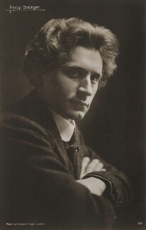 Percy Grainger, by Holman & Paget - NPG x17028