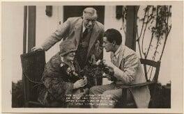 Clara Novello Davies; David Davies; Ivor Novello, by Unknown photographer - NPG x17029
