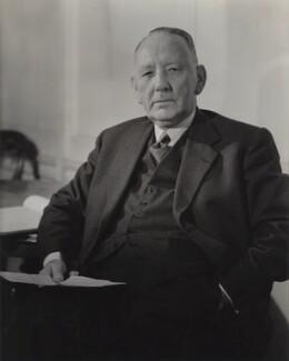 T.J.B. Adams, by Howard Coster, 1956 - NPG x1706 - © National Portrait Gallery, London