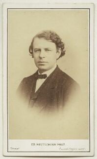 Joseph Joachim, by Charles Reutlinger - NPG x17093