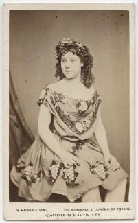 Possibly Ellen ('Nellie') Farren, by William Walker & Sons - NPG x17104