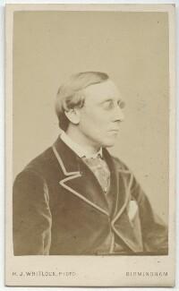 Henry Fawcett, by Henry Joseph Whitlock, 1860s-1870s - NPG x17107 - © National Portrait Gallery, London