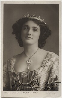 Lillah McCarthy, by W. & D. Downey, published by  Rotary Photographic Co Ltd - NPG x17121