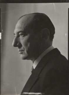 Józef Beck, by Howard Coster - NPG x1722