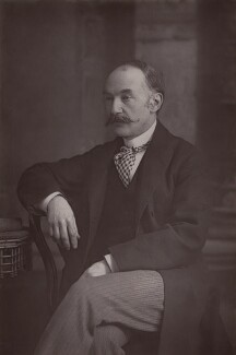 Thomas Hardy, by W. & D. Downey - NPG x17362