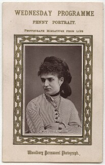 Nelly Harris, published by Figaro Office - NPG x17420