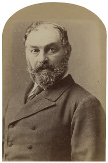 Frederic Harrison, by Unknown photographer - NPG x17427