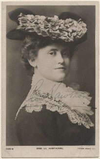 Lillian 'Lil' Hawthorne, published by Rotary Photographic Co Ltd - NPG x17454