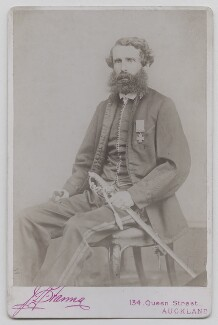 Charles Heaphy, by J.B. Farma - NPG x17468